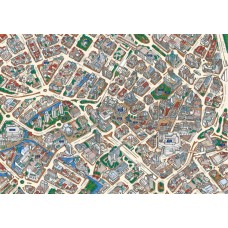 Map Puzzle of Birmingham - Views from above Britain