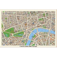 Map Puzzle of Central London - Views from above Britain