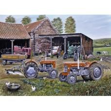 Farmyard Fergies 1000 piece puzzle by Roy Didwell