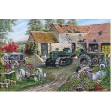 Farmyard Field Marshall 1000 piece puzzle by Roy Didwell