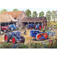 Farmyard Fords 1000 piece puzzle by Roy Didwell