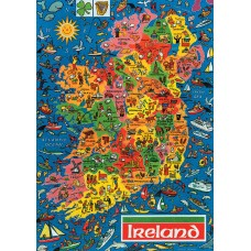 Map Puzzle of Ireland