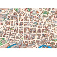 Map Puzzle of Leeds -  Views from above Britain