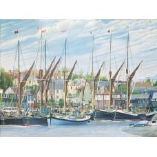 Thames Sailing Barges - 1000 Piece Puzzle