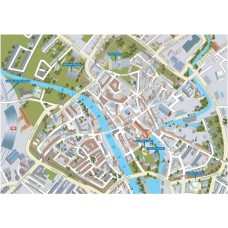 York - Views from above Britain- Map Puzzle