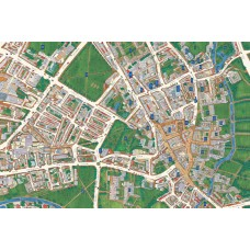 Map Puzzle of Cambridge - Views from above Britain
