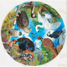 Birds of Lake Forest and Field Circular Puzzle