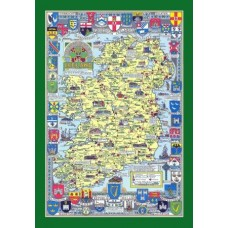 Historical Map Puzzle of Ireland