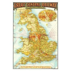 Map Puzzle of Grand Central Railway