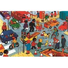 High Street 28 Piece Floor Puzzle