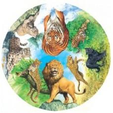 Wild Cats Circular 500 piece