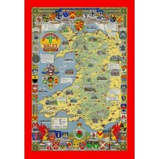 Historical Map Puzzle of Wales