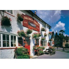 Brown Trout Pub, Lamberhurst Down, Kent 500 Piece Puzzle
