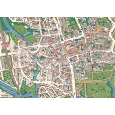 Oxford -Views from above Britain- Map Puzzle